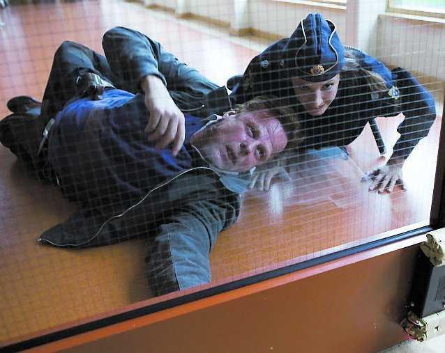 """Nina Zanjani spelar polisen Isabelle i """"Wallander – Hämnden"""" som hade biopremiär i fredags."""
