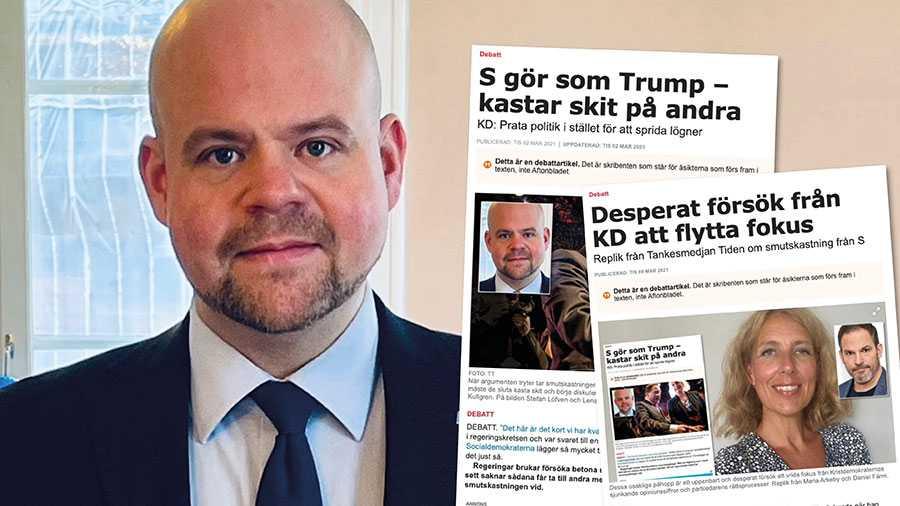 Ja, KD vill byta fokus från pajkastning till att handla om de samhällsutmaningar som plågar Sverige. Men på min inbjudan till sakpolitisk debatt ger Socialdemokraterna inga svar eller förslag på politiska lösningar. Slutreplik från Peter Kullgren.