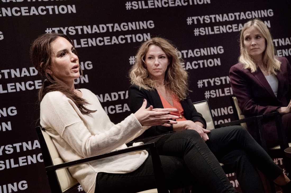 Alexandra Rapaport, Sofia Ledarp och Moa Gammel.