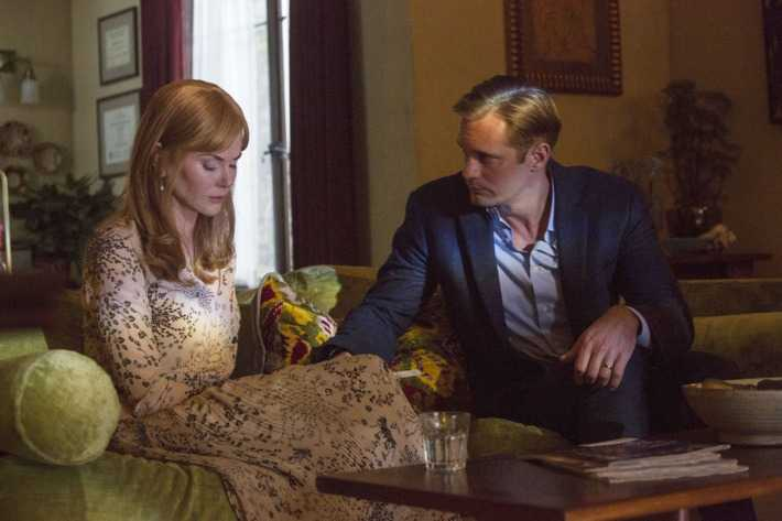 "Skarsgård och Kidman i ""Big little lies""."