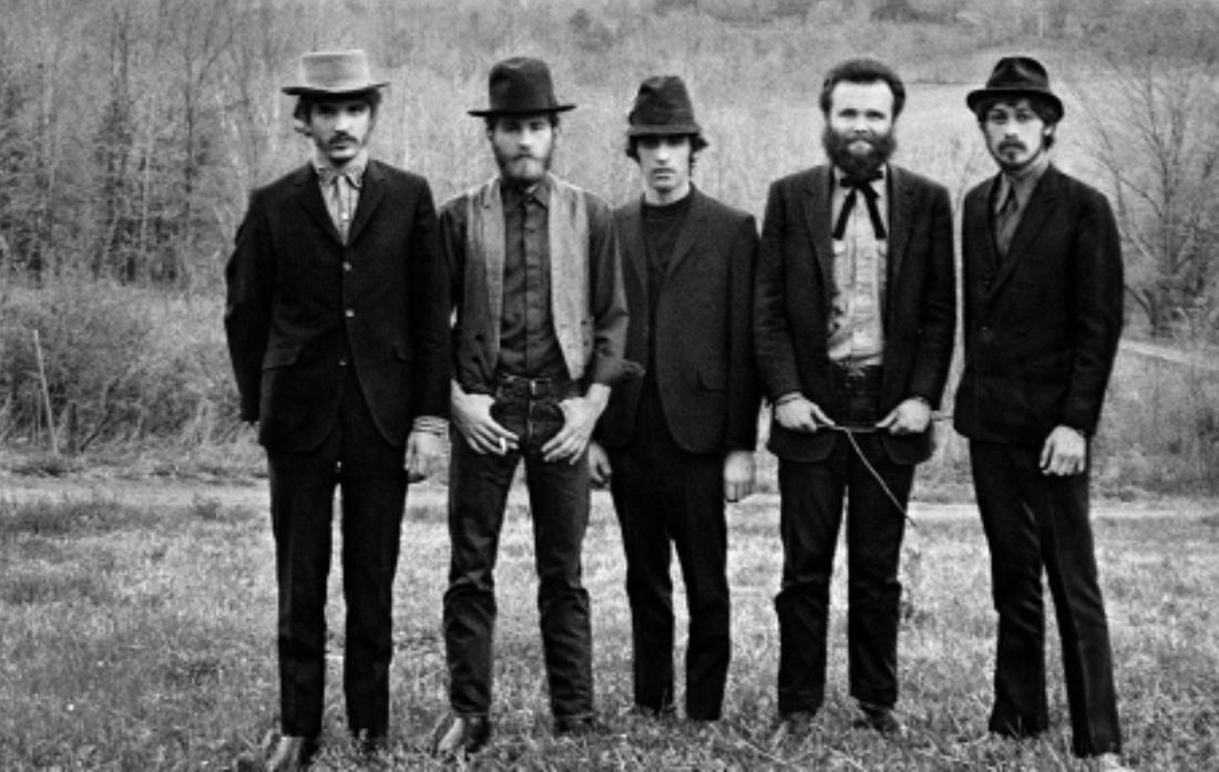 Väderbitna unga män på 1960-talet.