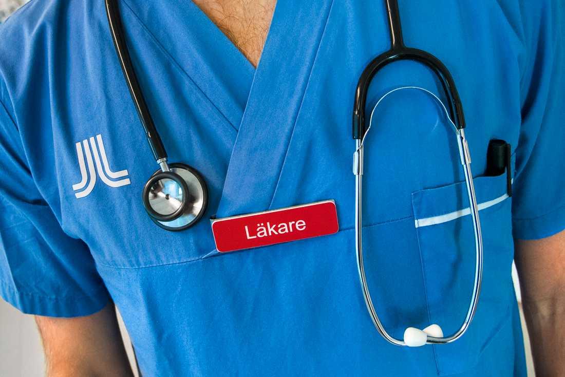Centerpartiet och regeringen är oense om den nya momsen på inhyrd vårdpersonal. Arkivbild.