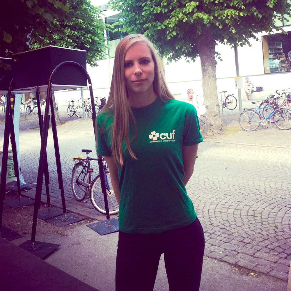 Hanna Wagenius.