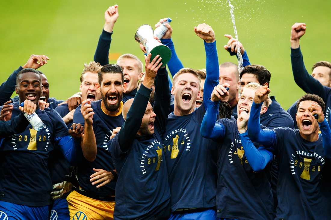 IFK Göteborg vinner svenska cupen.