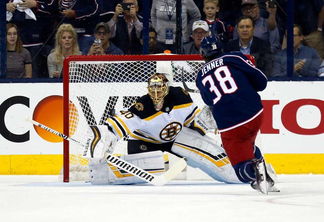Boston-målvakten Tuukka Rask storspelade