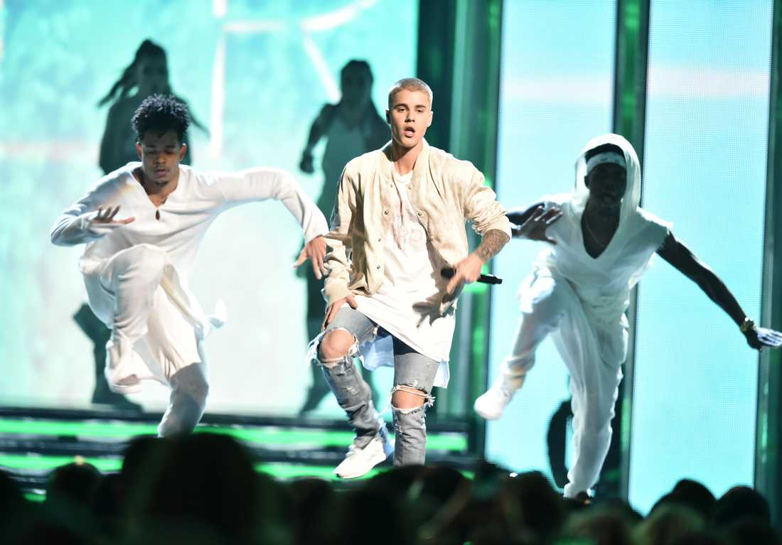 Justin Bieber på Billboard music awards