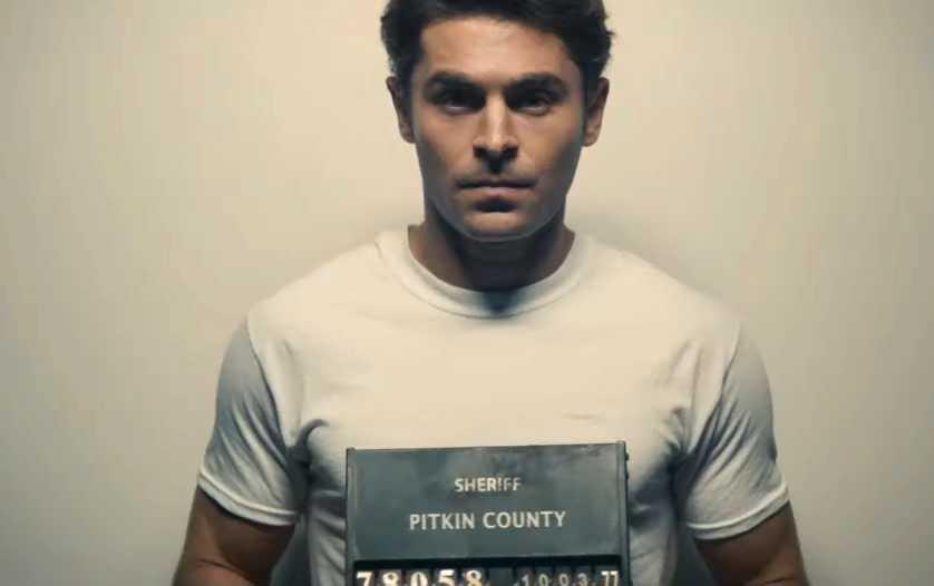 Zac Efron som Ted Bundy.