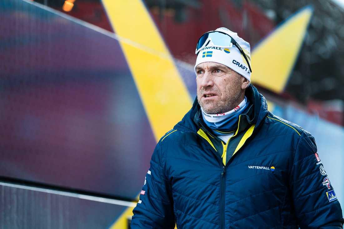 Damtränaren Magnus Ingesson.