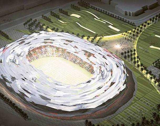 Education City Stadium, Al-Rayyan. Kapacitet 45 350