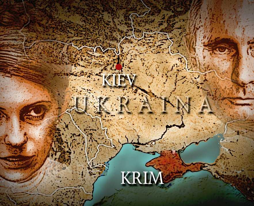 SPÄNT LÄGE Julia Tymosjenkos Ukraina är under press från Rysslands president Vladimir Putin.