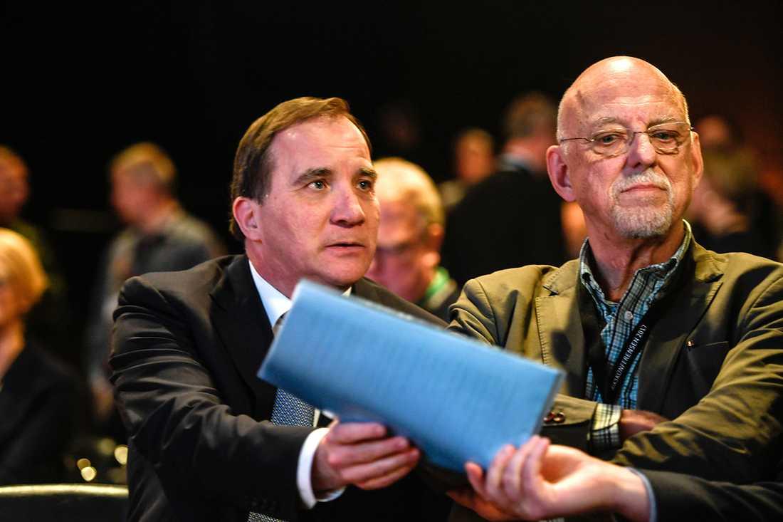 Stefan Löfven och Hans Dahlgren.