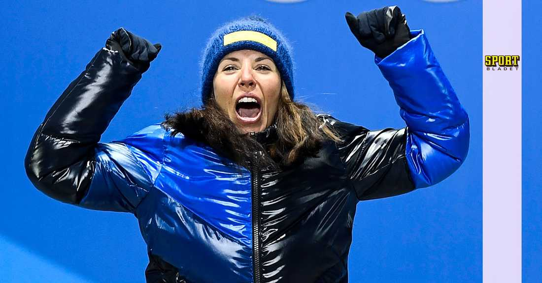 Charlotte Kalla tog guld i damernas skiathlon