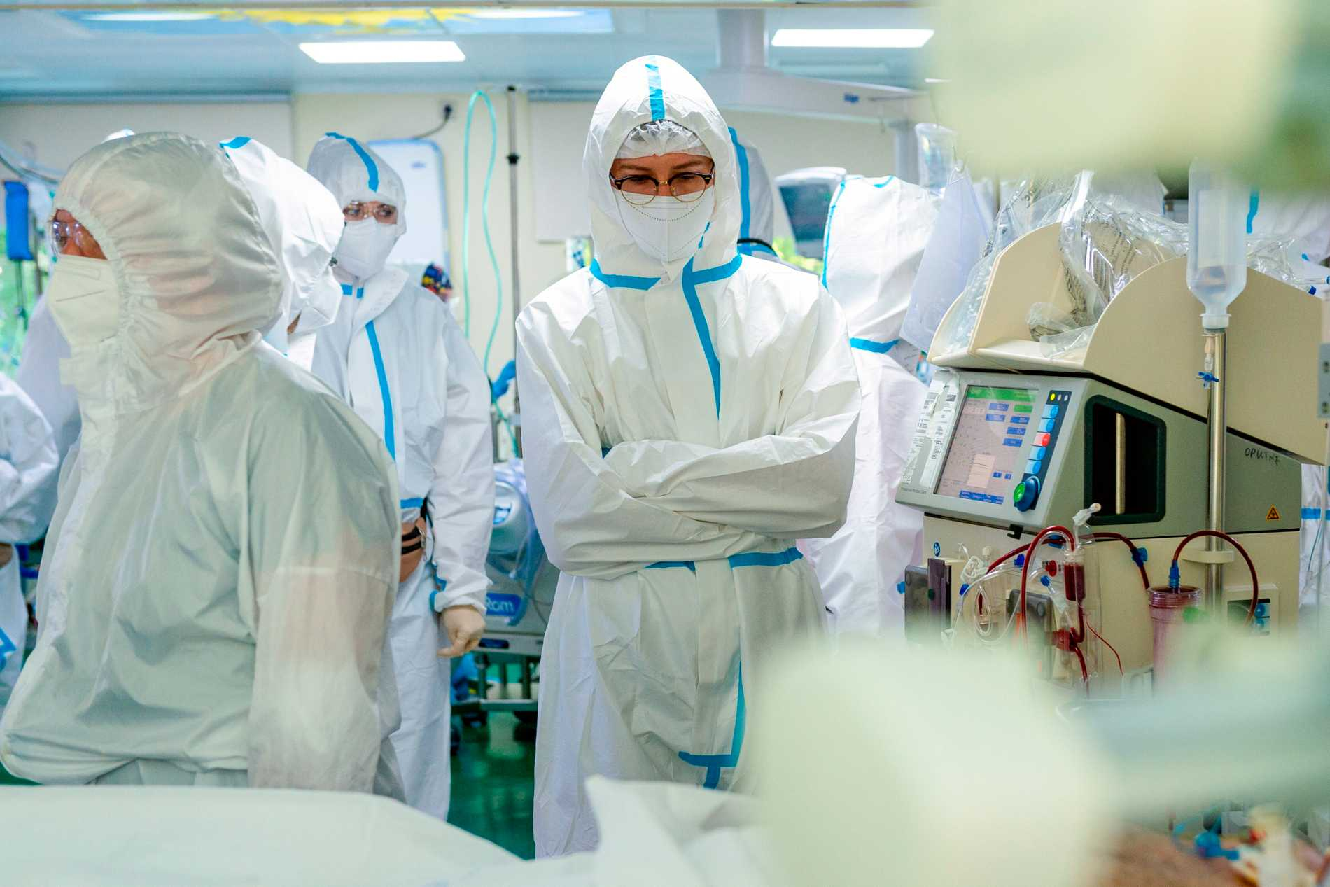 Specialavdelning på ett sjukhus i Moskva.