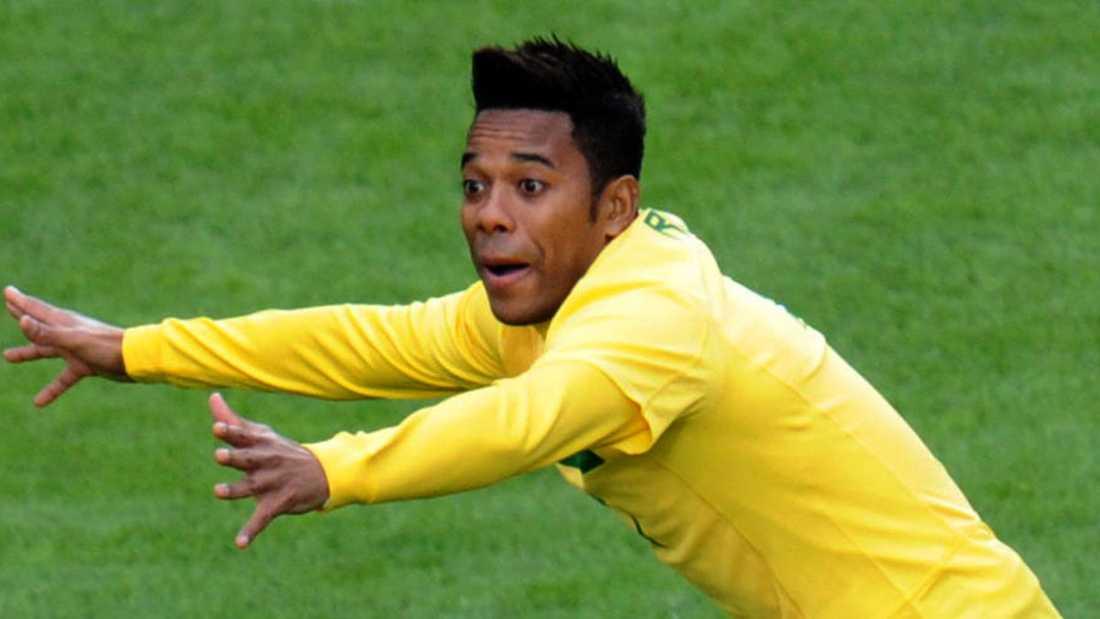Robinho, eller som han egentligen heter – Robson de Souza.