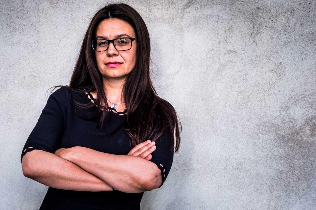 Helena Lindahl gick emot partikamraterna i Centern och röstade nej till Stefan Löfven (S) som statsminister. Arkivbild.