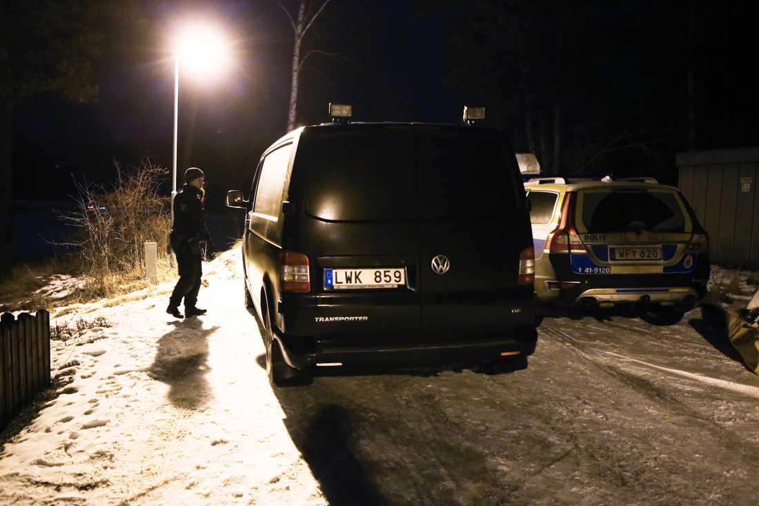 Polisen i Eskilstuna rubricerar händelsen som mord.