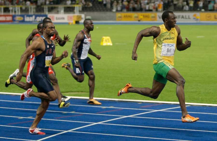I VM-finalen 2009 i Berlin, där Usain Bolt satte nytt världsrekord (9,58), blev Gay utklassad – men ändå silvermedaljör.