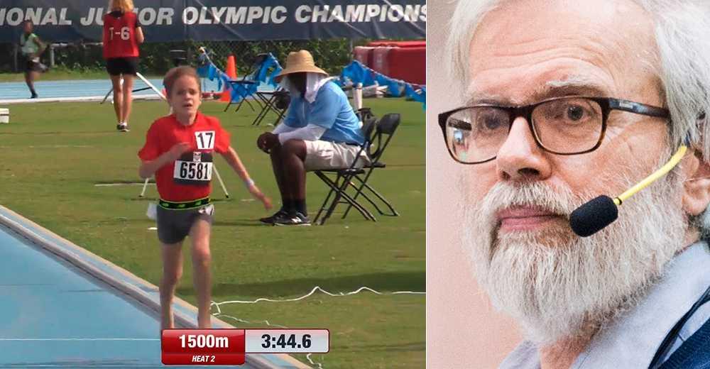 A Lennart Julin drar inga stora slutsatser av underbarnet Daniel Skanderas 44 världsrekord.