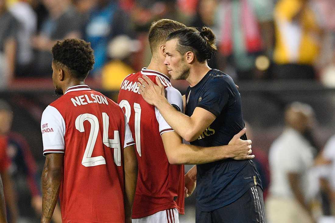 Gareth Bale efter nattens match mot Arsenal