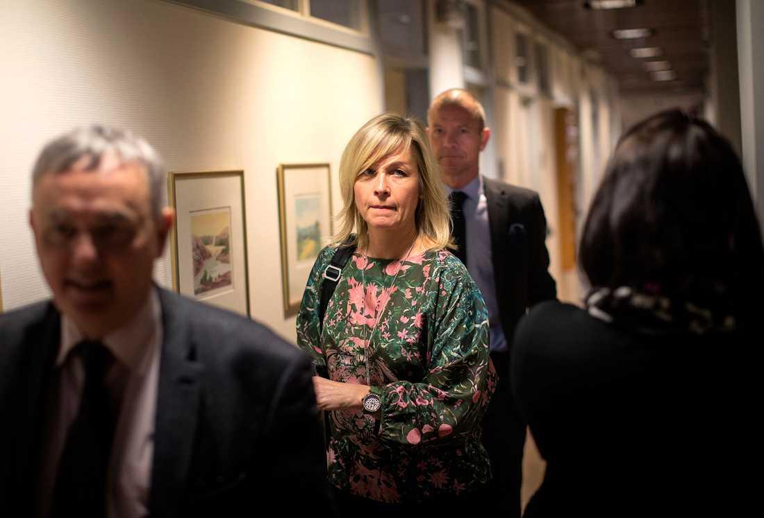 Företagsjuristen Kristina Geers är åtalad för grovt försvårande av skattekontroll.