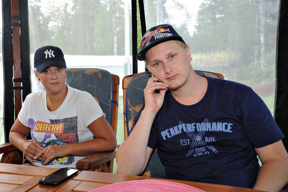 Tony Nordén och flickvännen Alexandra Englund-Frisk, 24.