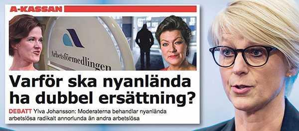 Elisabeth Svantesson svarar Ylva Johansson.