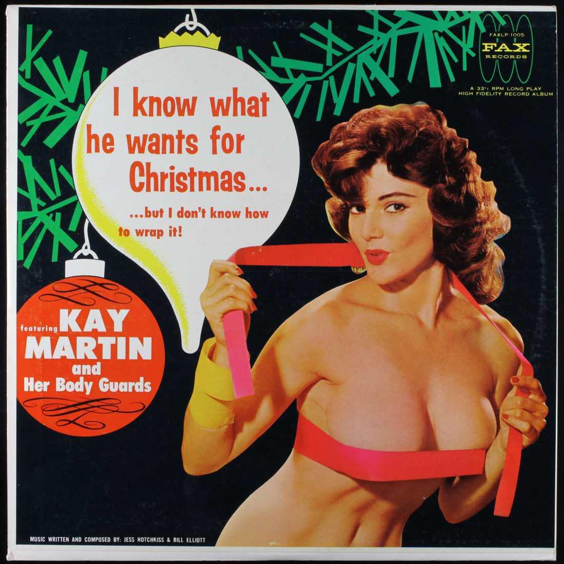 Kay Martin Kay Martin var en indian, fotomodell, sångerska och ägare till det legendariska etablissemanget Kay Martins Lodge. Spontant tycker Nöjesbladet att Kay verkar ha varit en spännande artist. Omslaget fick vi i tips av den kloka läsaren Nils Paulson.