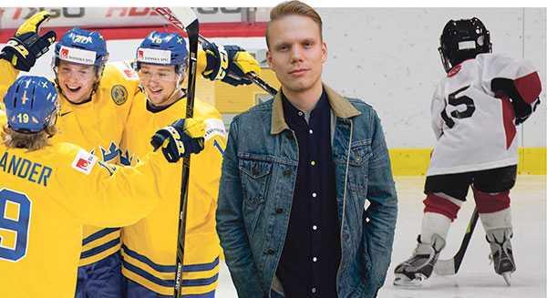Hockeyns och idrottsrörelsens öde tål att fundera över nu när Sveriges främsta talanger är mitt i slutspelet juniorhockey-VM i Kanada, skriver debattören.