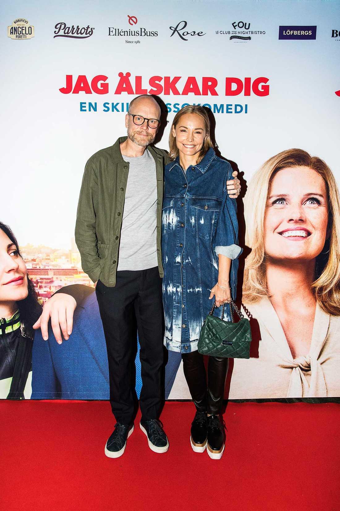 """Så sent som den 26 september premiärvimlade Luuk & Berg ihop på biograf Rigoletto i Stockholm. Filmen: """"Jag älskar dig – en skilsmässokomedi""""..."""