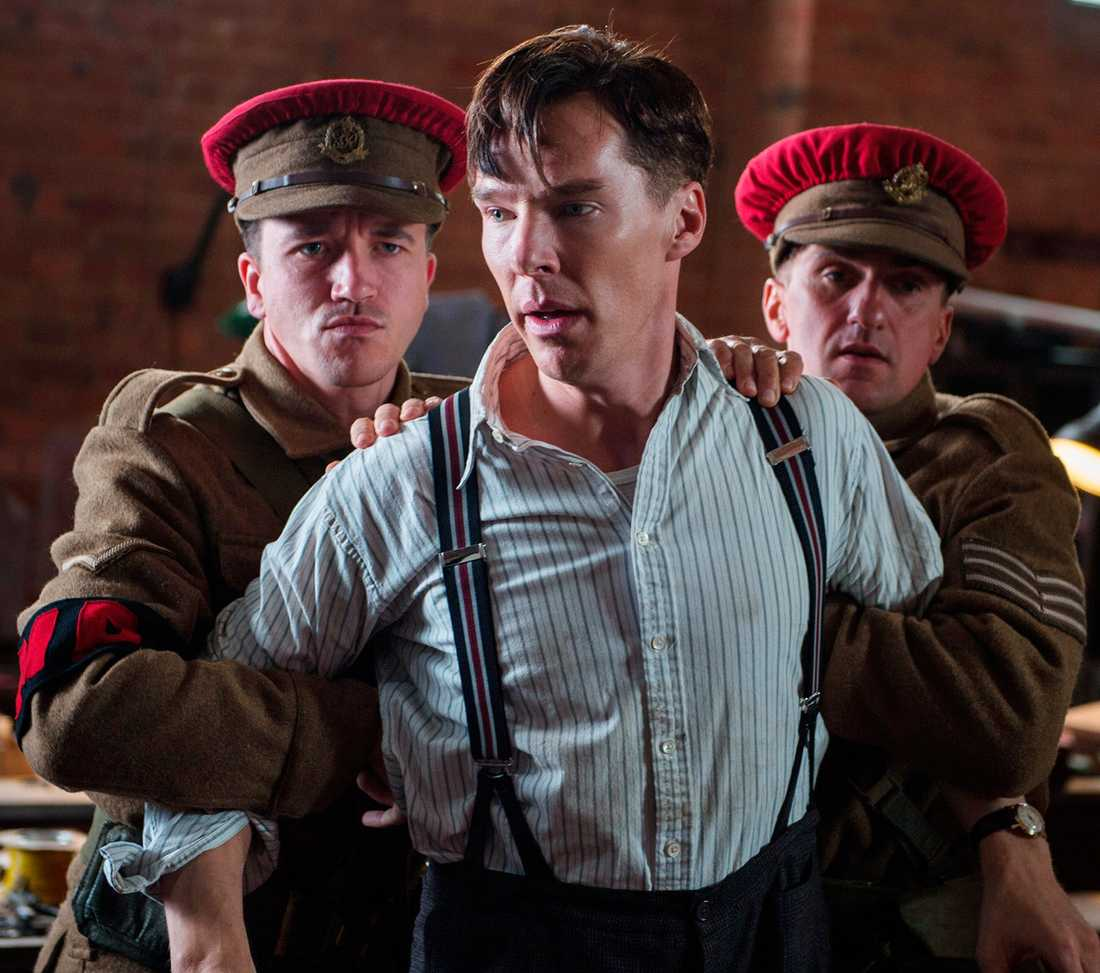 "Benedict Cumberbatch i filmen ""Imitation Game""."