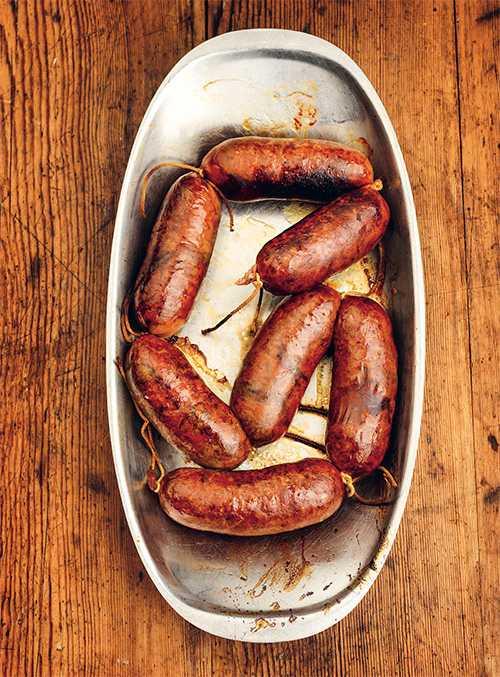 Kryddig viltkorv –  stek eller grilla.
