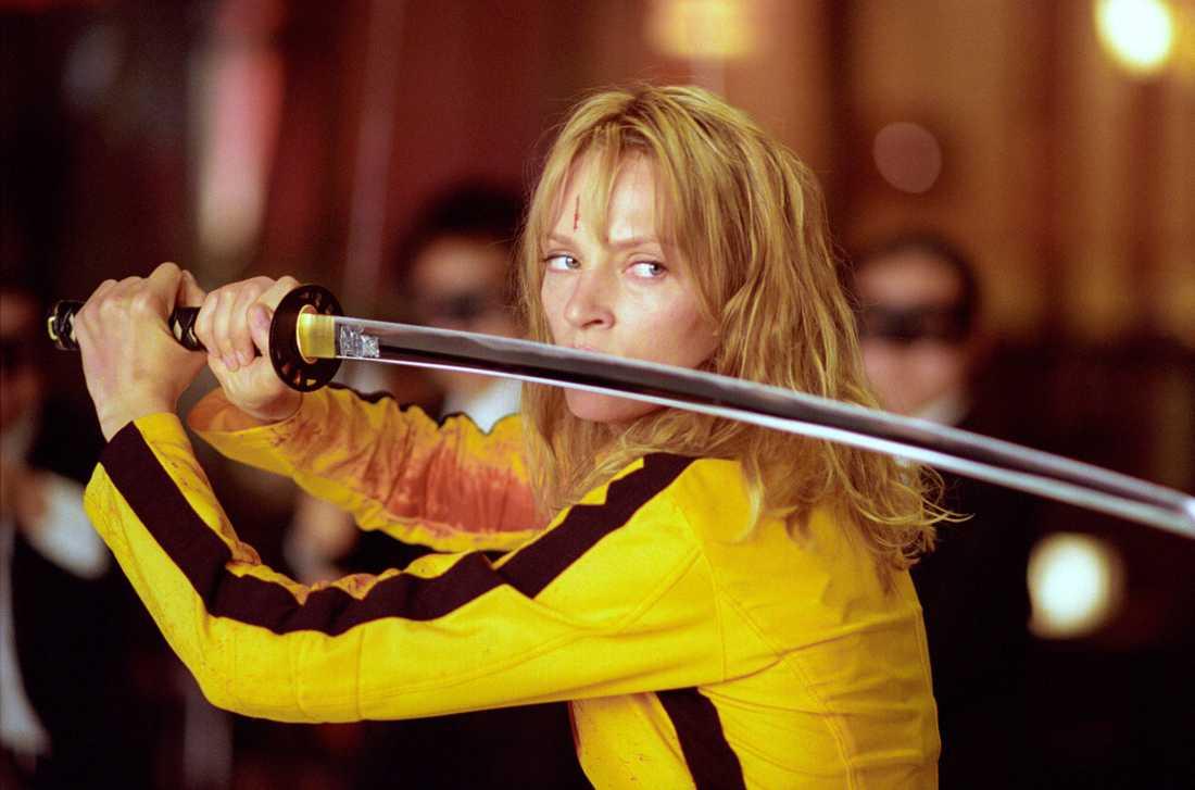 """Uma Thurman i """"Kill Bill""""."""