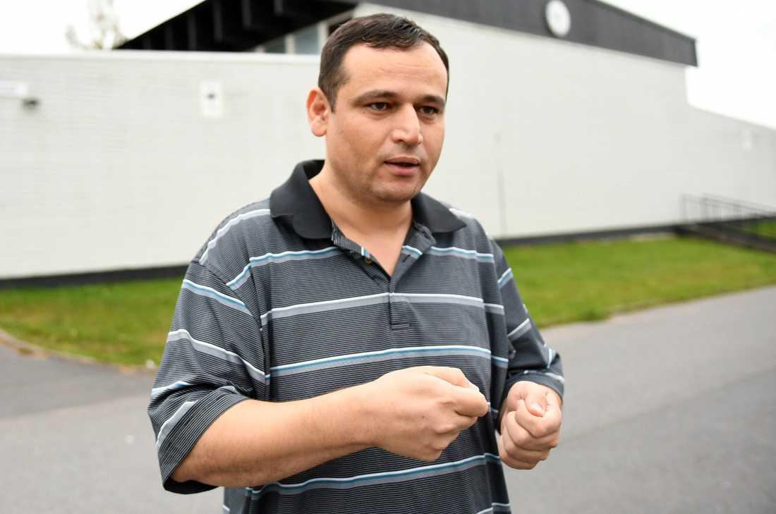 """Karim Alaloush har två döttrar på skolan: """"Jag kom hit direkt"""""""