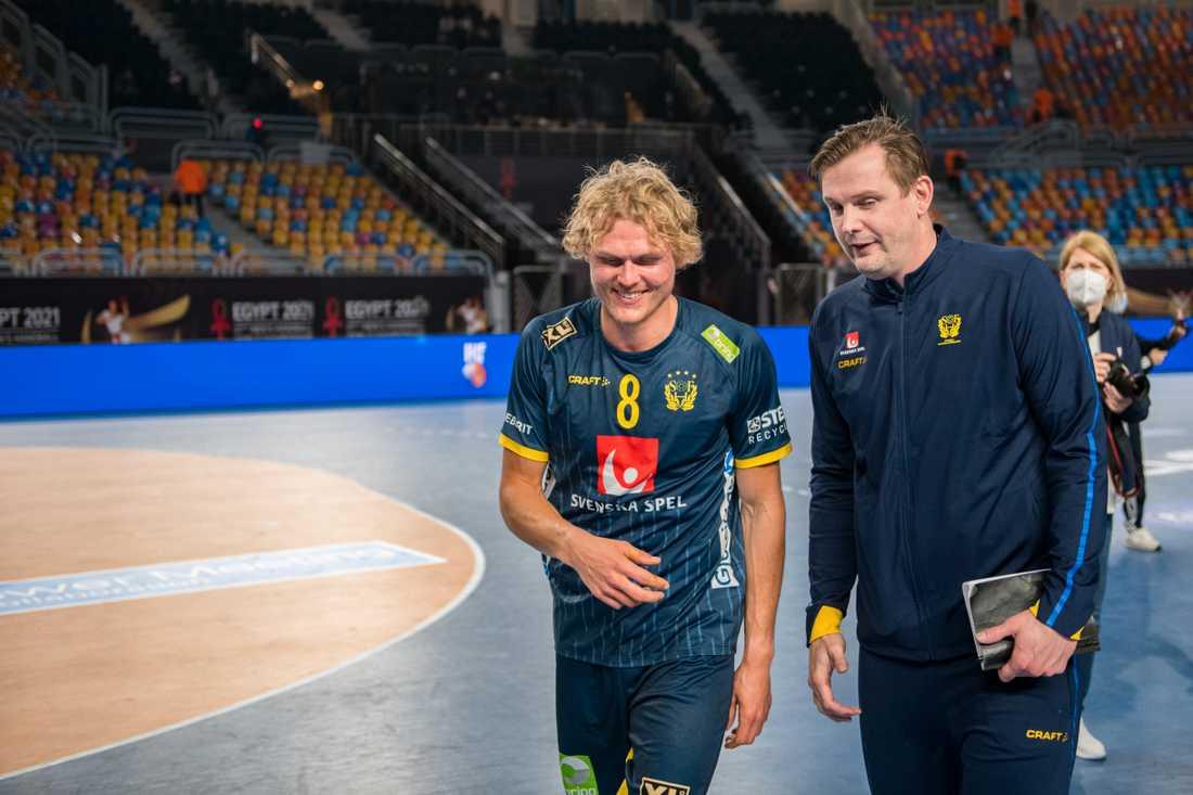 Alfred Jönsson och Martin Boquist.