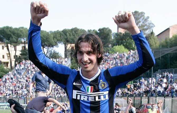 """Givetvis blev Zlatan en vinnare direkt i Inter. Efter att ha vunnit med Juve två år i rad vann Inter """"scudetton"""" 2007."""