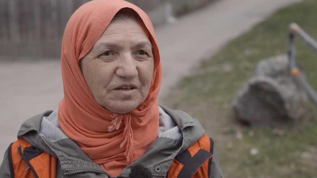 Gülli Pektas har varit aktiv i två år och älskar det.