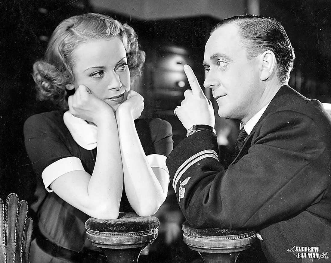 IDEL ÄDEL ADEL Film från 1946 med bland andra Åke Söderblom.