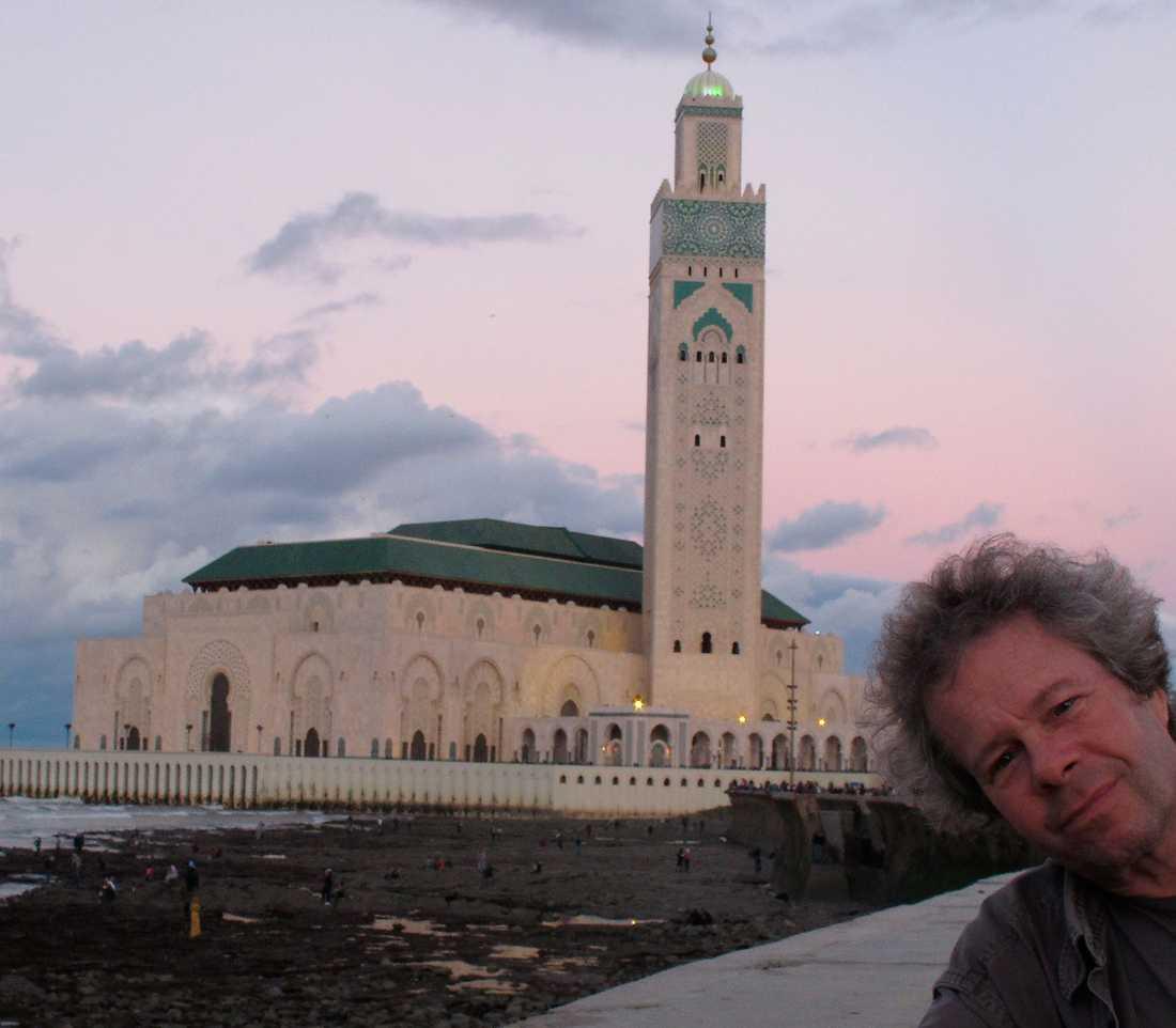 Kung Hassan den andres moské i Casablanca, byggd på 1990-talet och en av världens största.