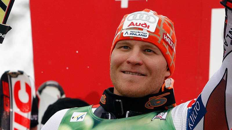 1999 vann finländaren VM i slalom.