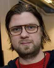Martin Lindwall, på restaurang Plockepinn i Malmö.