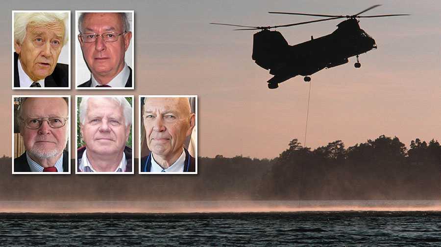 Det verkar som att allt som går emot marinens uppenbara och närmast desperata kampanj för att upprätthålla bilden av ubåtskränkningar mot Sverige ska undertryckas. Det håller inte, menar Rolf Ekéus, Sven Hirdman, Mathias Mossberg, Sune Olofson och Pierre Schori.