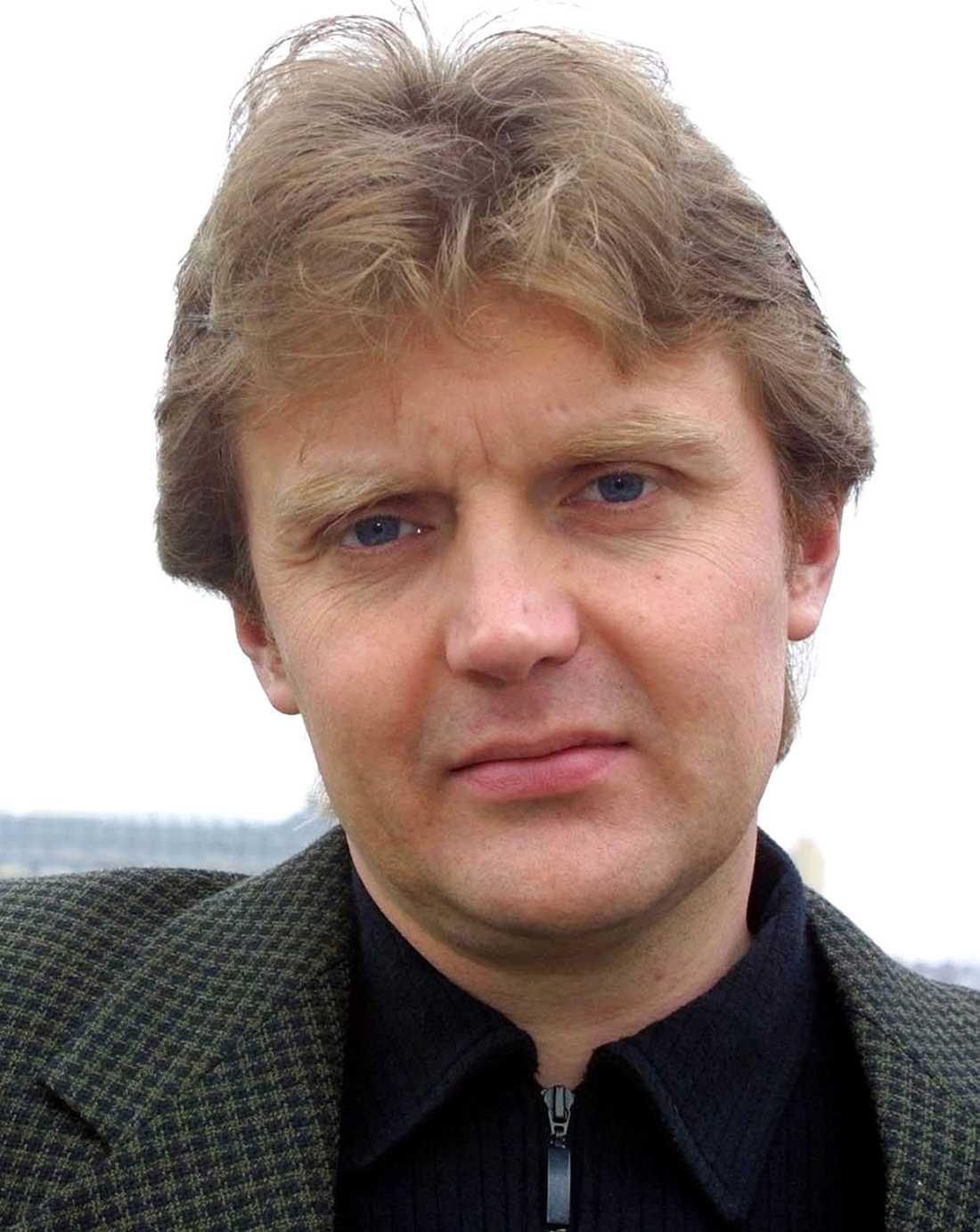 Alexander Litvinenko innan han förgiftades.