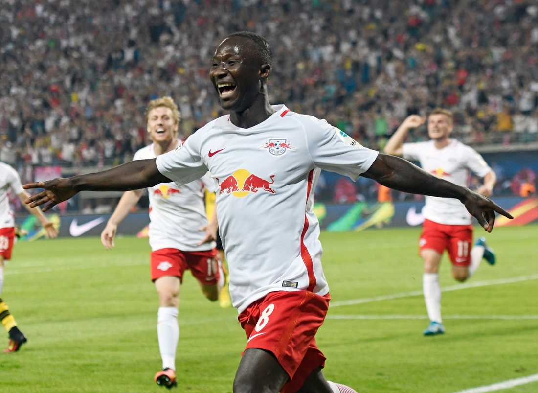 Naby Keitas prislapp höjs för Liverpool om Leipzig når CL.