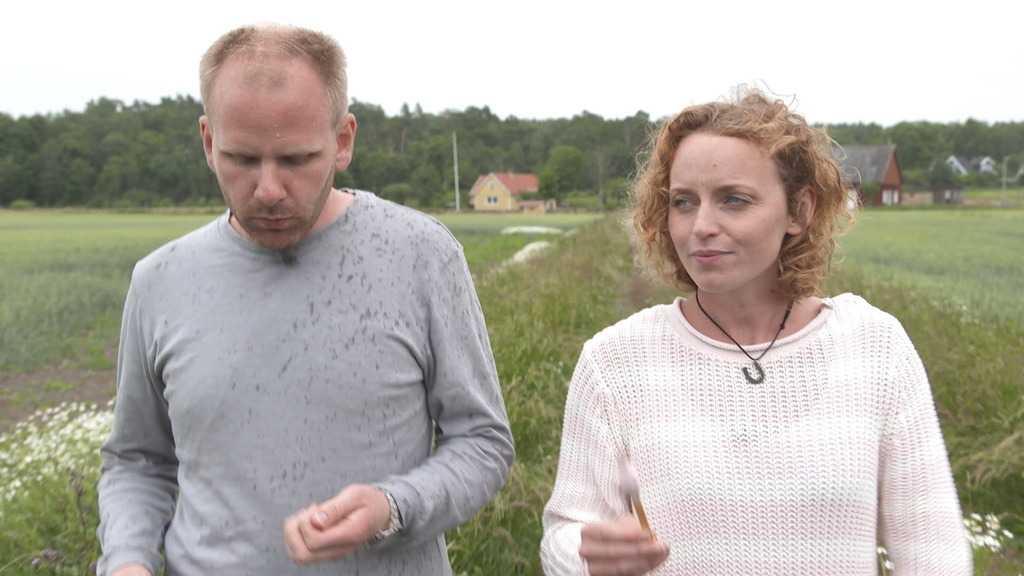 """Jennifer Erlandsson tvingades krossa David Olssons hjärta. """"Det är fruktansvärt jobbigt"""", säger hon."""
