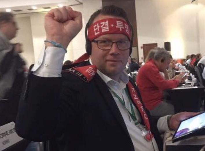 Martin Linder är ordförande för Unionen, som vägrar redovisa hur de rest för medlemmarnas pengar.