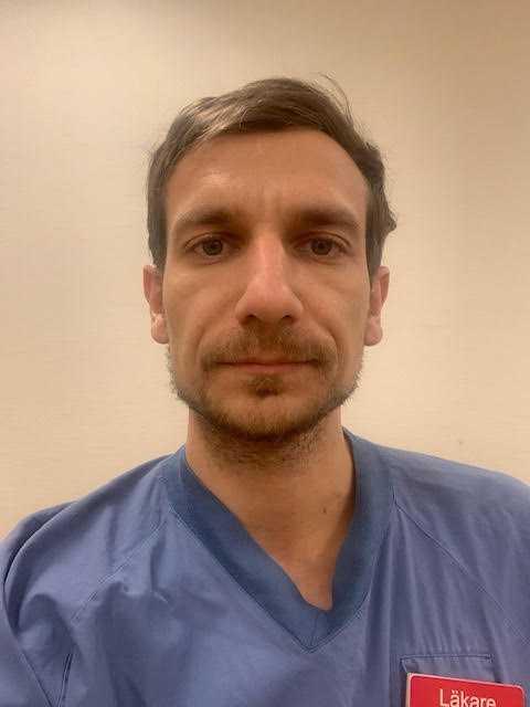 Akil Awad, specialistläkare på Södersjukhuset i Stockholm.