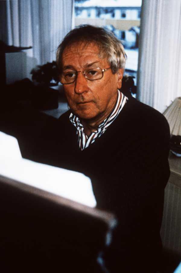 Tomas Tranströmer på 90-talet.
