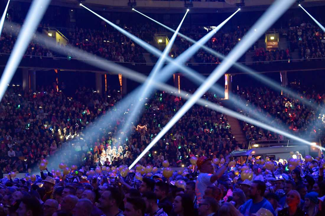 Melodifestivalen i Friends arena 2019.