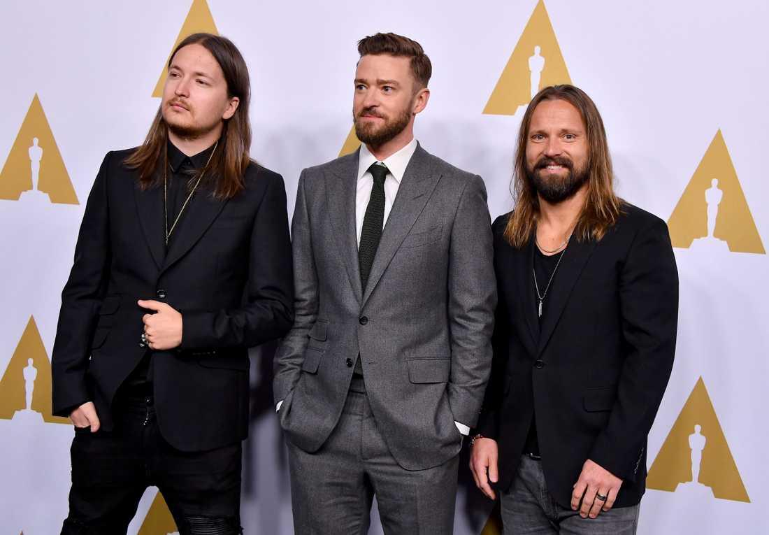 Shellback, Justin Timberlake och Max Martin.