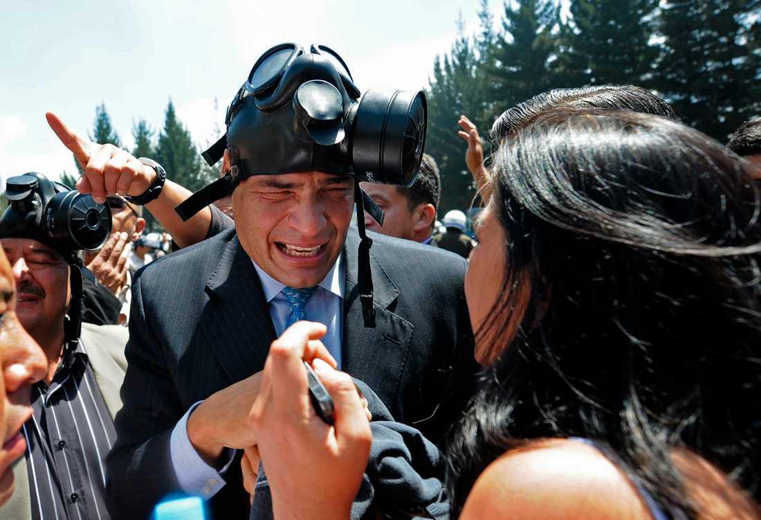President Rafael Correa.